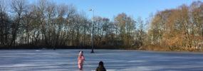 De ijsbaan is open!